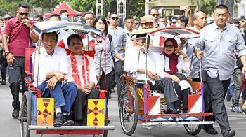 Perbedaan Peta Suara Jokowi Vs Prabowo dalam Dua Laga Pilpres