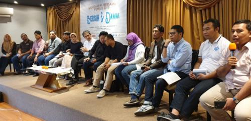 Bersama Mewujudkan Pemilu Bersih dan Damai