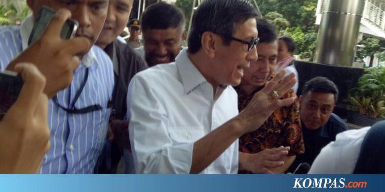 Kasus E-KTP, KPK Kembali Periksa Yasonna Laoly - Kompas.com