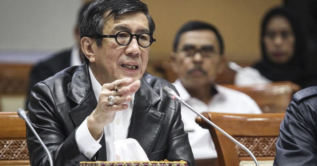 Menkumham: Tak Ada Niat Pemerintah Lemahkan KPK  - Tirto.ID