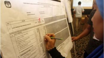 KPU umumkan hasil Pemilu Legislatif: PDIP raih suara terbanyak, Gerindra urutan kedua